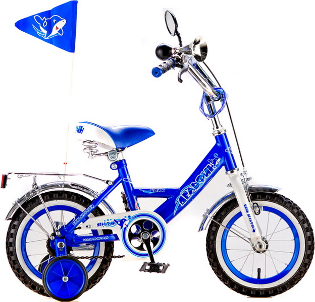 """Велосипед 12"""" Black Aqua Дельфин KG1205 синий"""