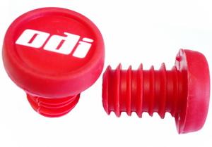 Грипстоппер ODI F72EPJ литой, пластиковый, красный   а