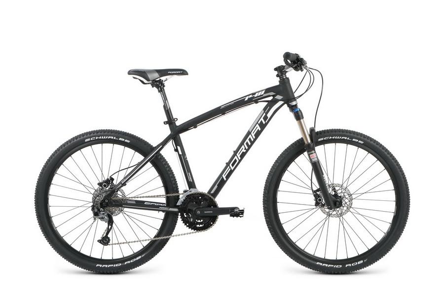 """Велосипед 26"""" Format 1411 Elite (M"""") 27ск, AL, Disc, чёрный, модель 2016"""