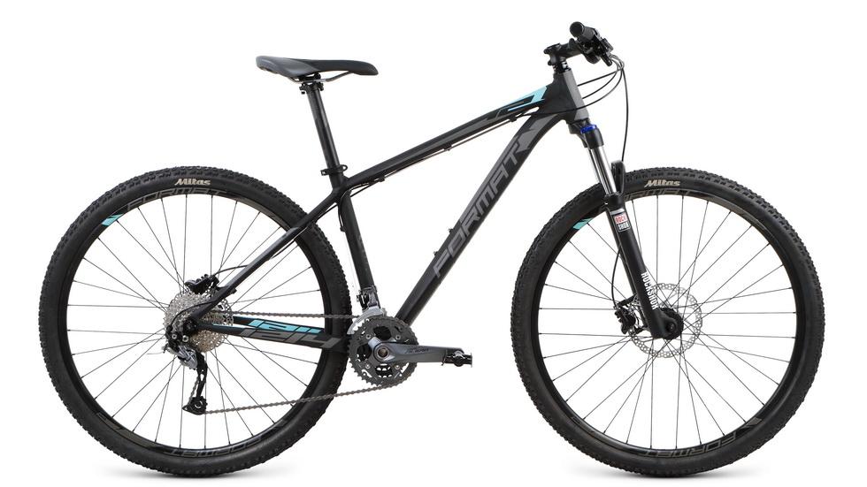 """Велосипед 29"""" Format 1214 (S"""") 27ск, AL, Disc, чёрный, модель 2017  **"""