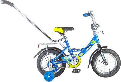 "Велосипед 12"" Novatrack Urban синий"