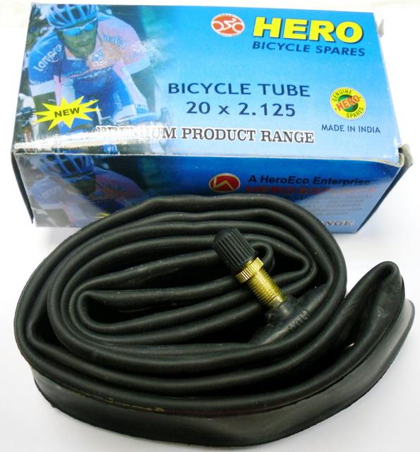 "Велокамера 20""х2.125 (406-47/54) A/V Hero   ч"