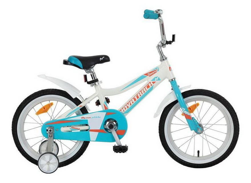 """Велосипед 14"""" Novatrack Novara, алюминиевая рама, белый"""