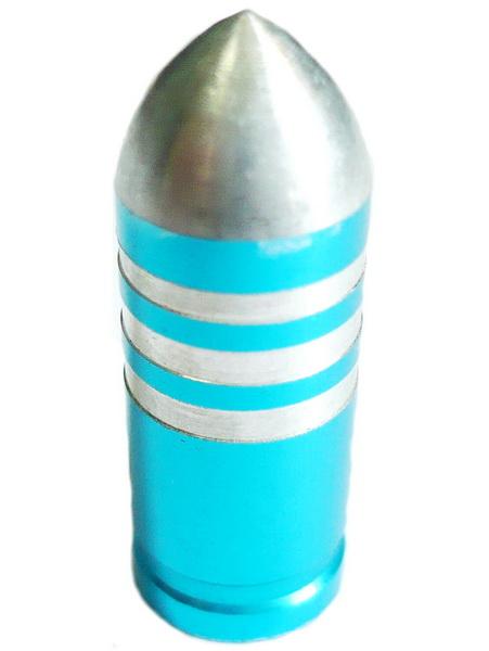 Колпачок (декоративный) A/V AL Primeaero, NZ-B3, пуля голубая с проточками