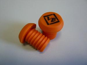 "Грипстоппер Velo ""VB"" VLP-87 литой, кратон, аналог ""ODI"", оранжевый"