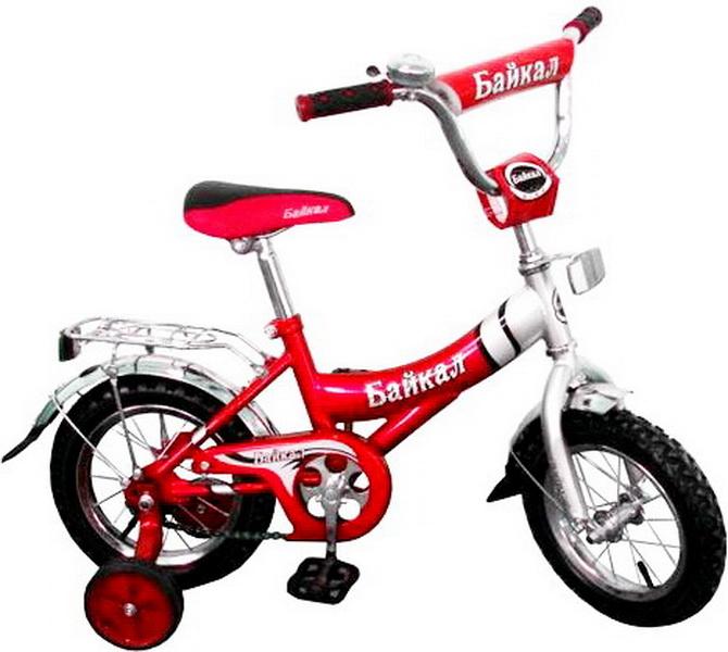 """Велосипед 12"""" Байкал В1203 красный"""