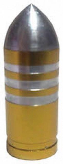 Колпачок (декоративный) A/V AL Primeaero, NZ-B3, пуля золотистая с проточками  *