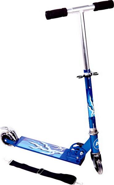 Самокат Black Aqua AVT-1021, синий