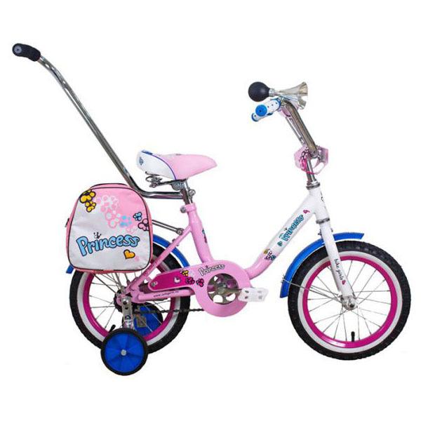 """Велосипед 14"""" Black Aqua Princess KG1402 светло-розовый"""