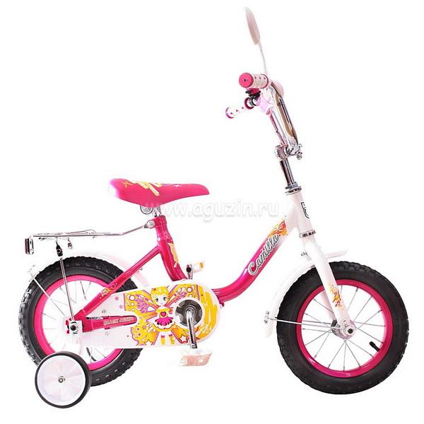 """Велосипед 14"""" Black Aqua Camilla KG1417 розовый"""