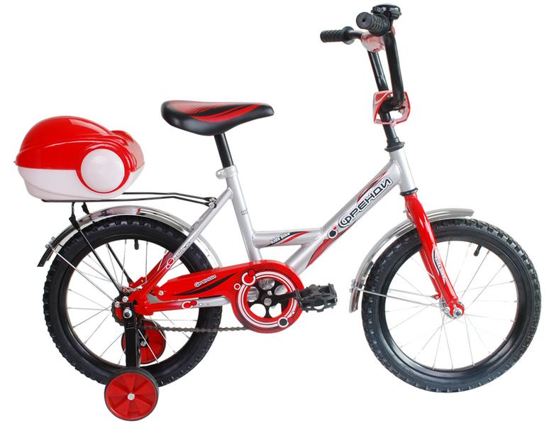 """Велосипед 14"""" Мультяшка Френди XB1401 красный"""