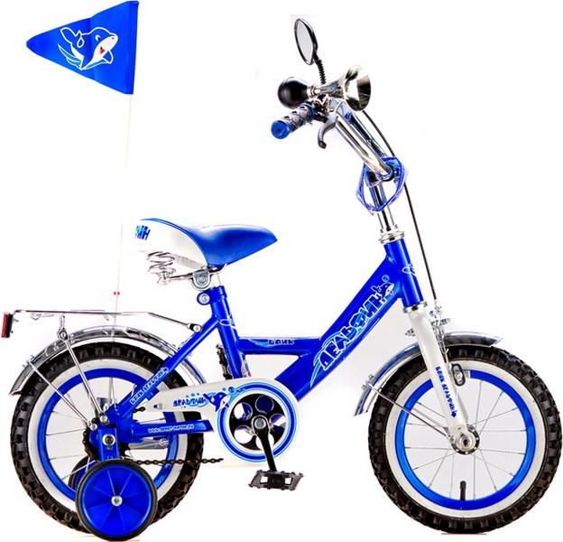 """Велосипед 14"""" Black Aqua Дельфин KG1405 синий"""