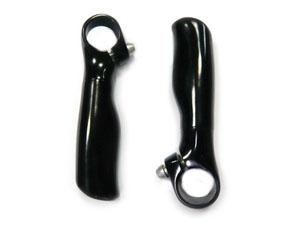 Рога Zoom MT-106A L110мм, AL, анатомические, чёрные  *