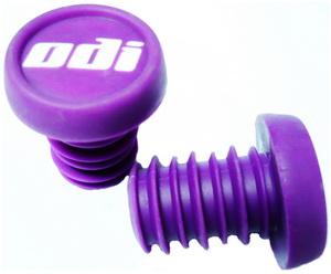 Грипстоппер ODI F72EPJ литой, пластиковый, фиолетовый а