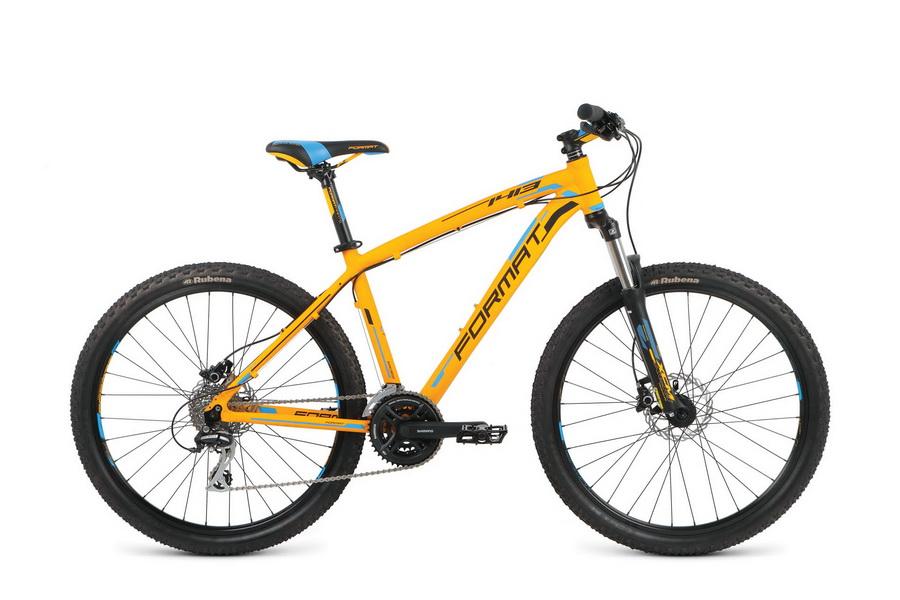 """Велосипед 26"""" Format 1413 (L"""") 24ск, AL, Disc, оранжевый, модель 2016"""