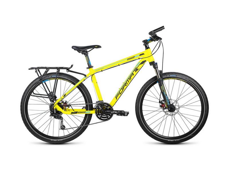 """Велосипед 26"""" Format 5212 (L"""") 24ск, AL, Disc, жёлтый, модель 2015"""