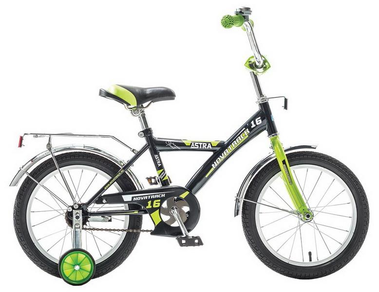 """Велосипед 14"""" Novatrack Astra чёрный"""