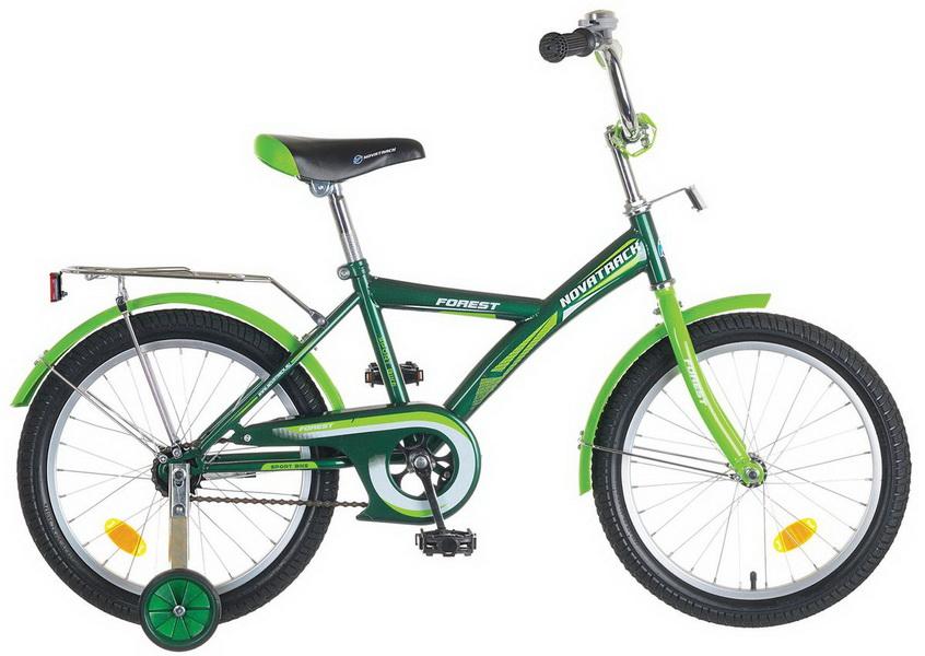 """Велосипед 20"""" Novatrack Yt forest, зелёный"""
