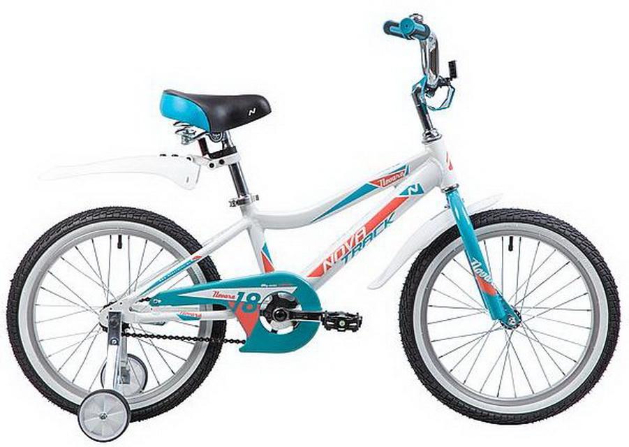 """Велосипед 18"""" Novatrack Novara, алюминиевая рама, белый"""