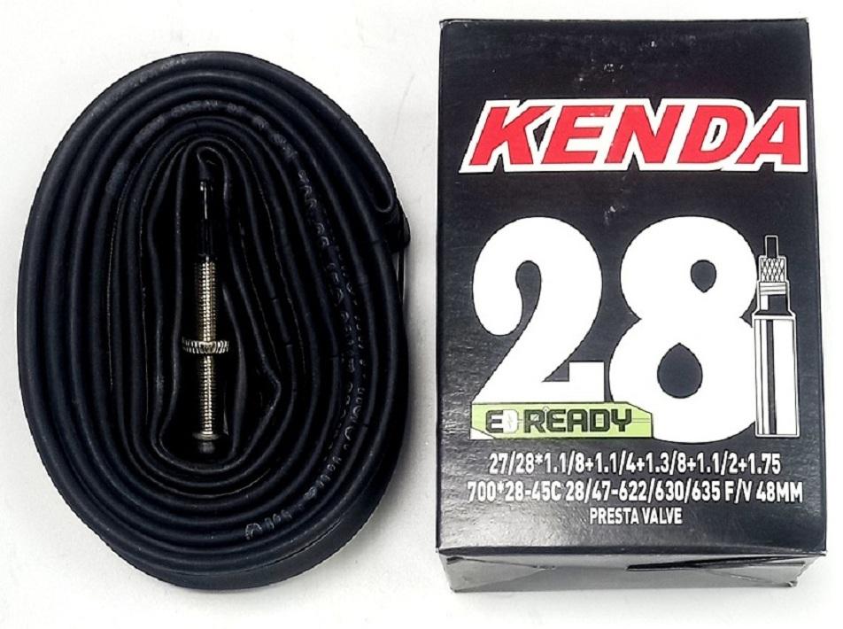 Kenda велокамера 700х28/45 (622/635-28/47) 0.87мм presta F/V-48мм (511217/511817/510216)