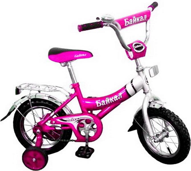"""Велосипед 12"""" Байкал В1203 розовый"""