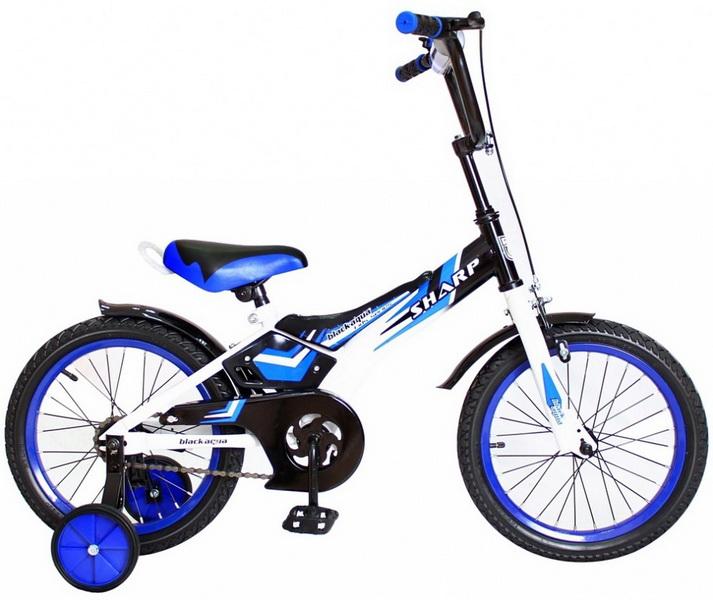 """Велосипед 20"""" Black Aqua Sharp KG2010 Disc, V-br, синий, 2017г."""