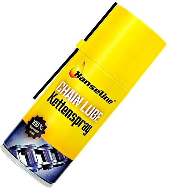Смазка Hanseline, 302128 для цепи, с тефлоном, бесцветный, аэрозоль, 150мл   в *