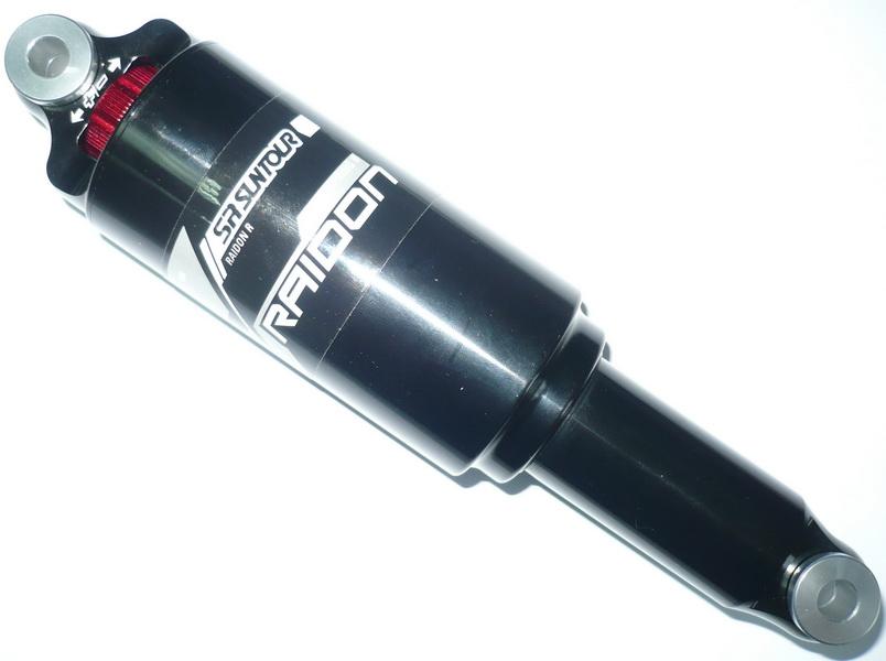 Амортизатор задний L190мм, ход 51мм, воздушный, регулировка скорости отскока, Suntour, RS17-Raidon R   а **