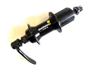 Втулка ROAD задняя 32Н, OLD-130мм, Ø10мм, QR, под кассету, Shimano, FH-2200, Claris, 8-10ск., чёрная