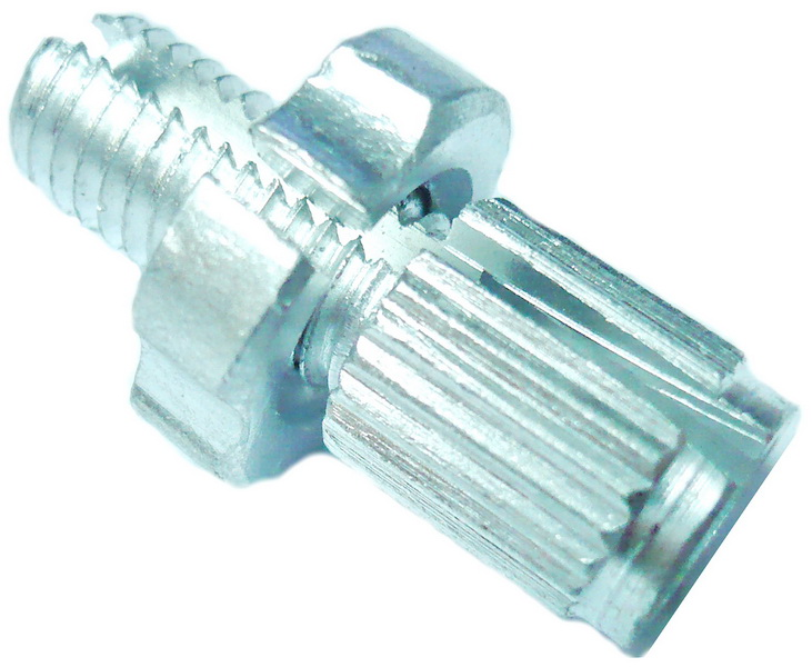 Болт натяжки троса М6(7), AL, серебристый   ч  (1мм)