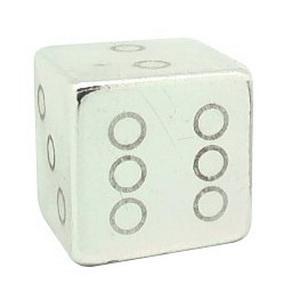 Колпачок (декоративный) A/V AL Primeaero, NZ-18, куб серебристый