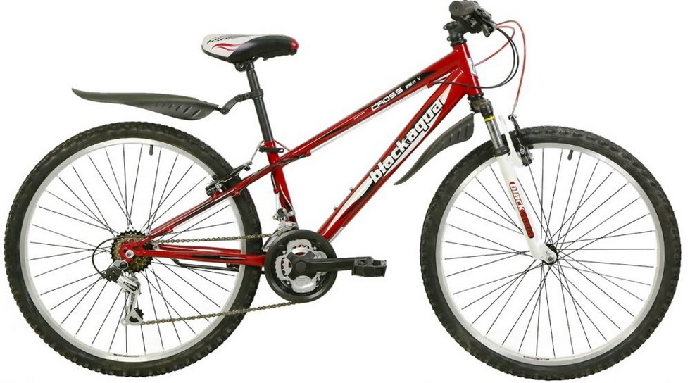"""Велосипед 20"""" Black Aqua Cross 2011 V GW-B225 6ск, алюминиевая рама, V-br, красный"""