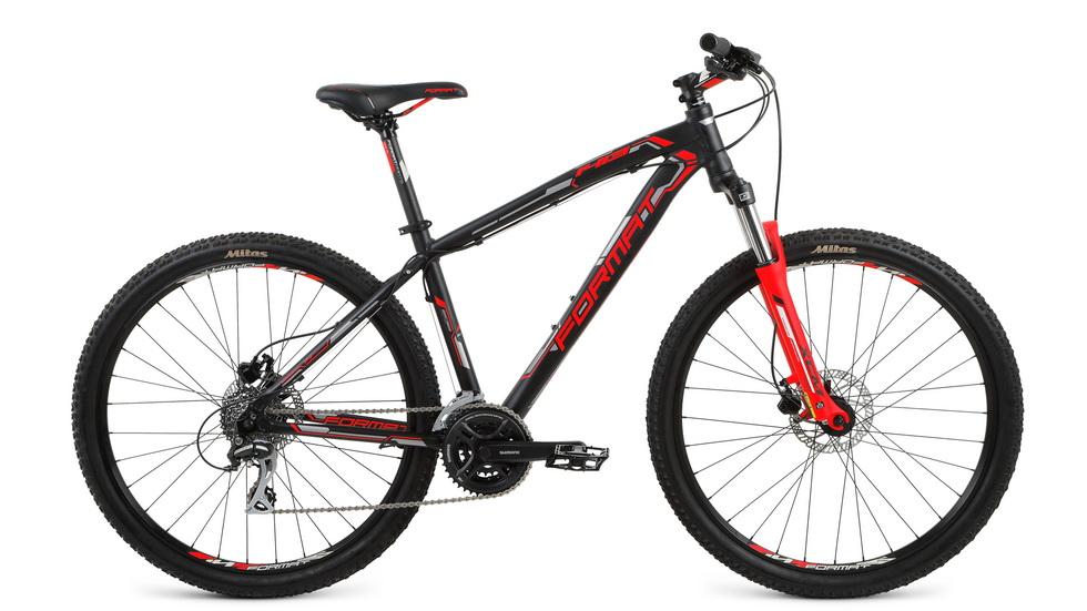 """Велосипед 27.5"""" Format 1413 (XL"""") 24ск, AL, Disc, чёрный"""