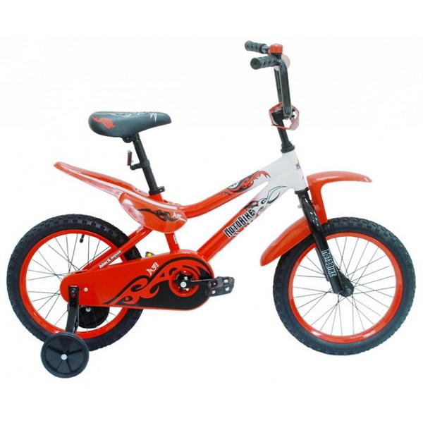 """Велосипед 20"""" Black Aqua Motobike KG2020 красный"""