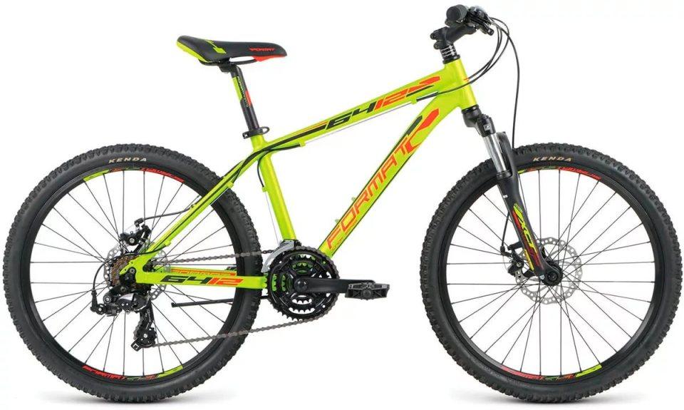 """Велосипед 24"""" Format 6412 boy 21ск, AL, Disc, зелёный,  модель 2016"""