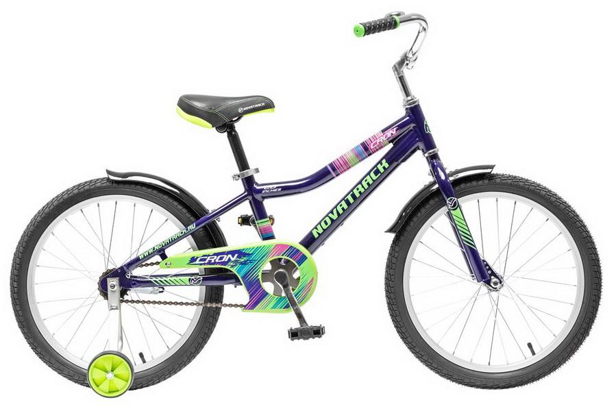 """Велосипед 20"""" Novatrack Cron, алюминиевая рама, бордовый"""