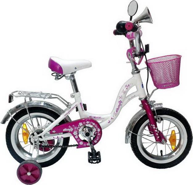 """Велосипед 14"""" Novatrack Butterfly фиолетовый"""