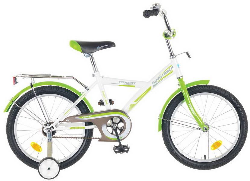 """Велосипед 20"""" Novatrack Yt forest, бело-зелёный"""