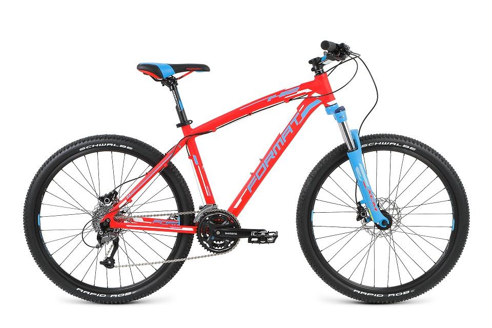 """Велосипед 26"""" Format 1412 (M"""") 24ск, AL, Disc, красный, модель 2016"""