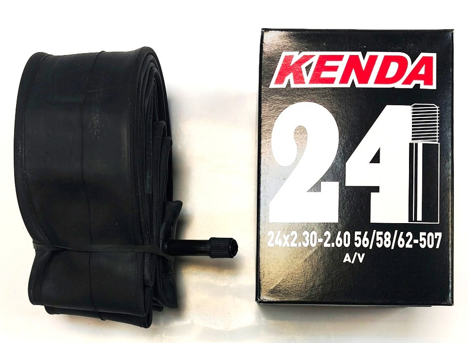 "Kenda велокамера 24""х2.30/2.60 (507-56/62) A/V-33мм (512341)"