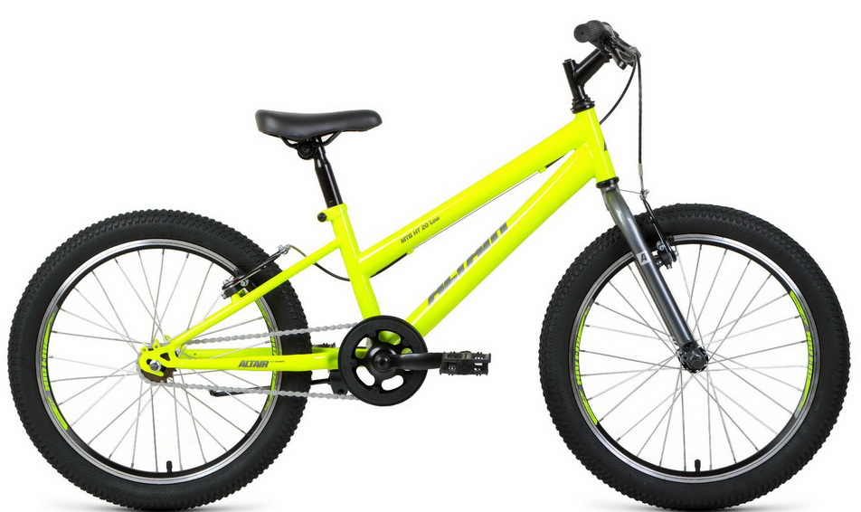 "Велосипед 20"" Altair MTB HT 1ск, St, V-br, светло-зелёно-серый, ""low""   скидка 10%"
