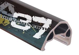 """Обод Alexrims 26"""" (559х27) 32Н Supra 37  820гр, под дисковый тормоз, чёрный"""