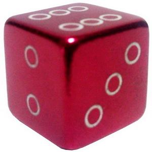 Колпачок (декоративный) A/V AL Primeaero, NZ-18, куб красный *