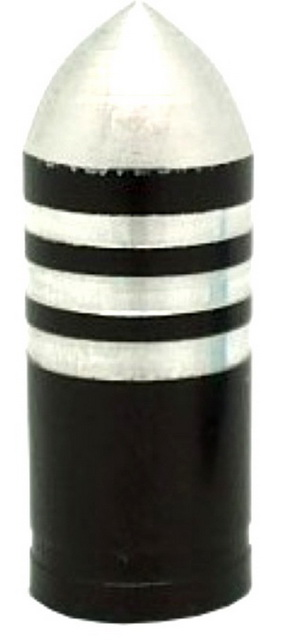 Колпачок (декоративный) A/V AL Primeaero, NZ-B3, пуля чёрная с проточками