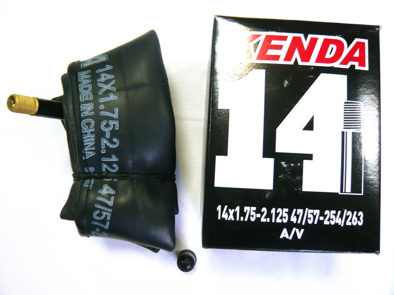 "Kenda велокамера 14""х1.75/2.125 (254/263-47/57) 0.87мм A/V-33мм (511304)"