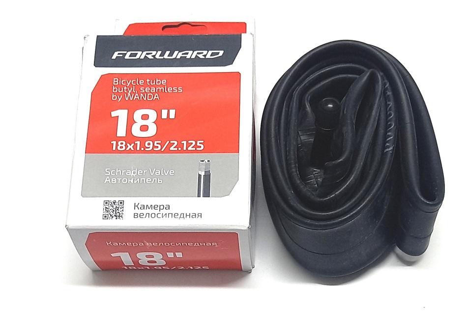 "Велокамера 18""х1.95/2.125 (355-50/57) A/V Wanda (бутил) TU18 (VTU18NR1751951)   ф               21"