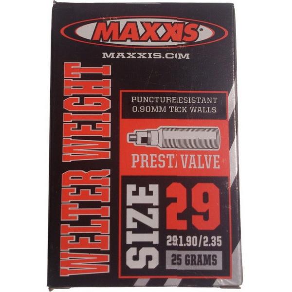 "Maxxis велокамера 29""x1.9/2.35 (622-50/58) 0.9мм presta F/V-48мм Welter Weight (IB96826200)"