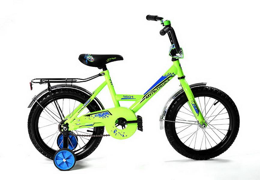 """Велосипед 20"""" Мультяшка XB2001 зелёный, 2017г."""