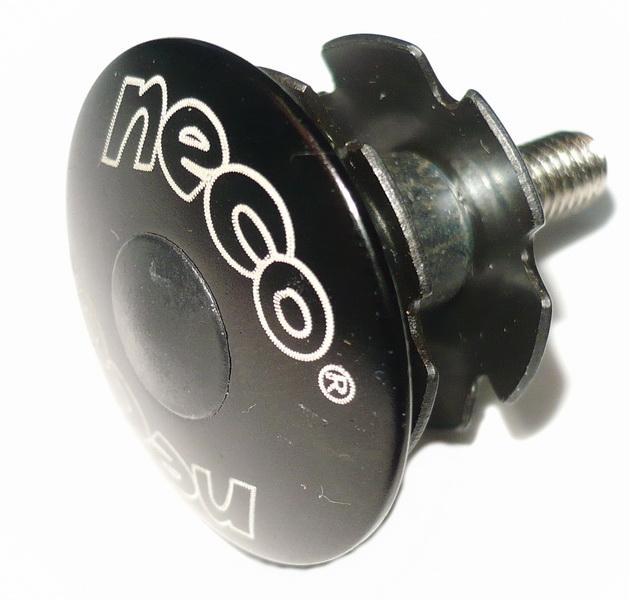 """Краб рулевой колонки (якорь) 1-1/8"""" Neco 2861BK AL/St, чёрный   м, а"""