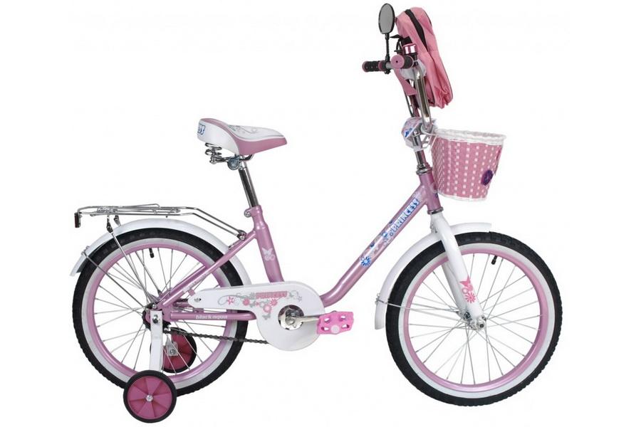 """Велосипед 20"""" Black Aqua Princess KG2002 светло-розовый 2017г."""